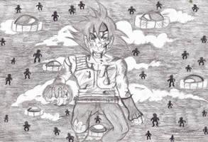 Goku's 'evil' daddy