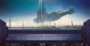 Scifi concept art