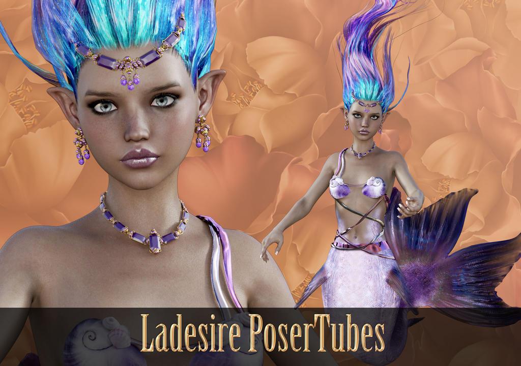Mermaid PoserTubes by Ladesire