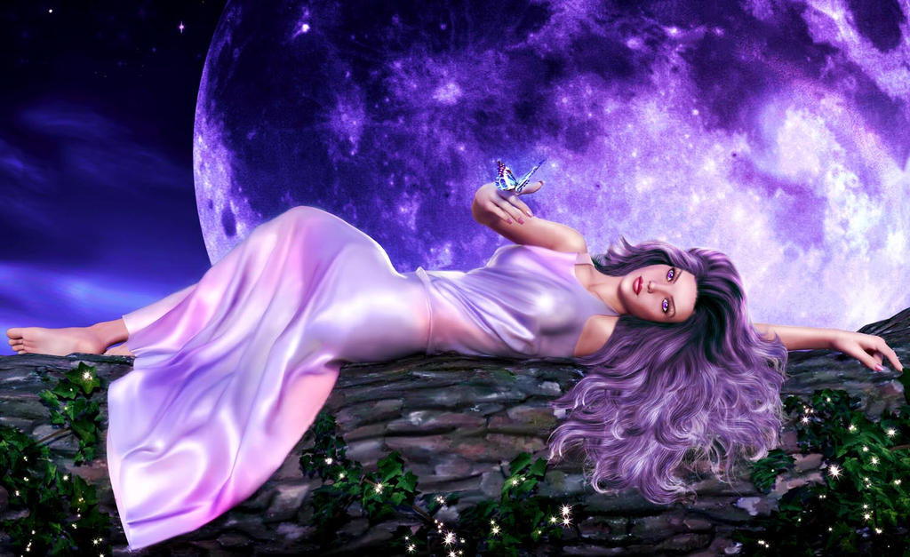 Violet night by Ladesire