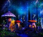 Mushroom cul-de-sac by Ladesire
