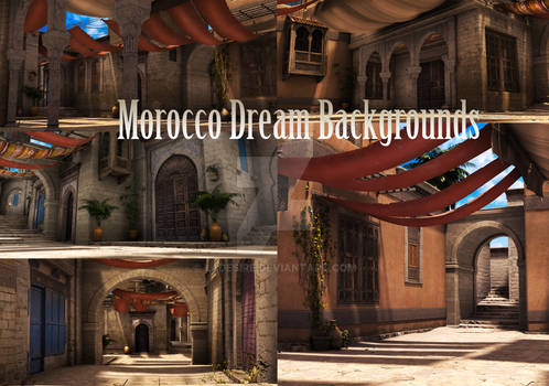 Morocco Dream Backgrounds