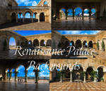 Renaissance Palace Backgrounds