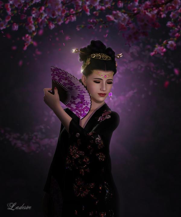 Asian beauty by Ladesire