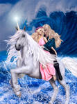 Meleth Serie - Unicorn Ride by Ladesire
