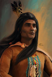 Proud Indian Chief