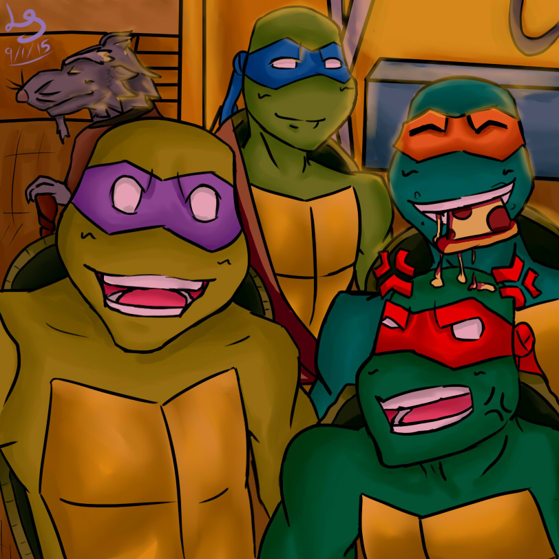 TMNT 2003 Group Selfie by autobot2