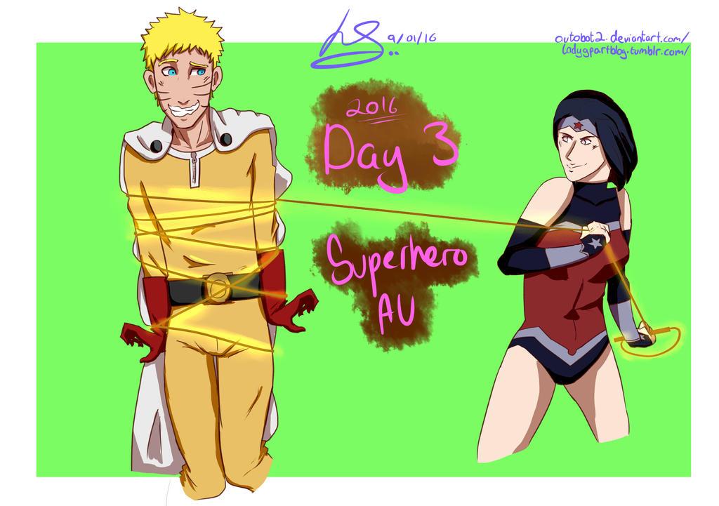 NHMonth Day 3: Superhero AU by autobot2