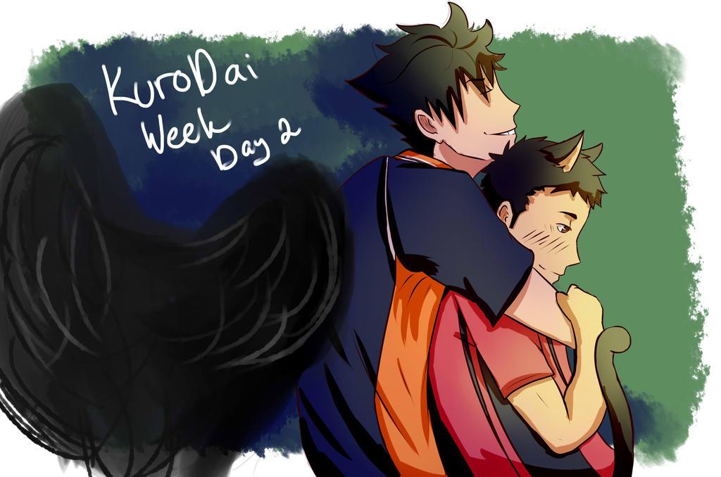KuroDai Week Day 2 - Clothes swap by autobot2