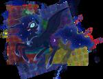 Nightmare Moon (creepy version)