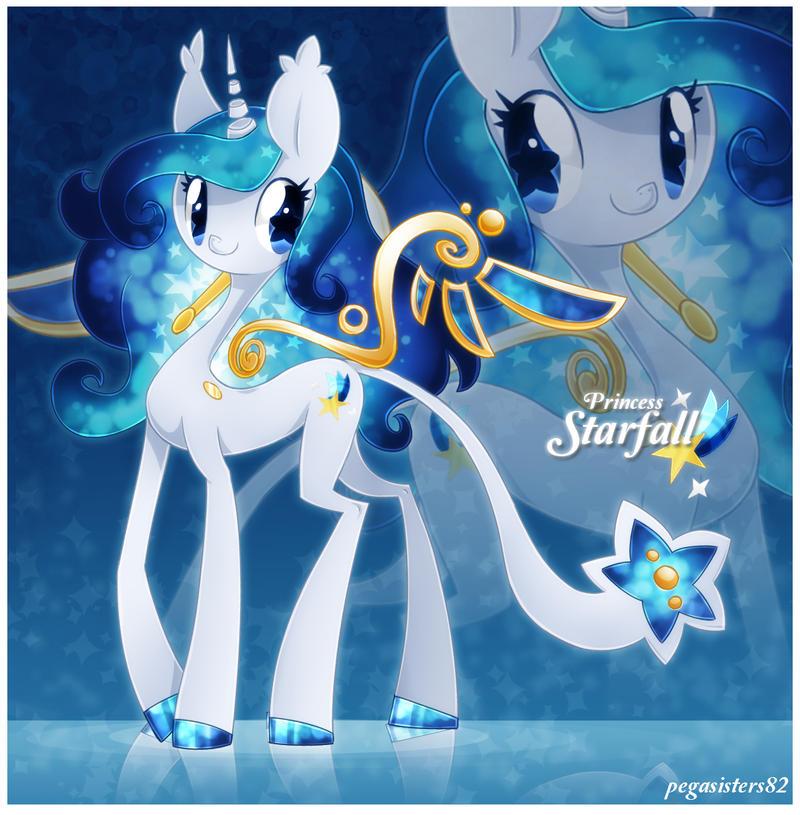Princess Starfall by PegaSisters82