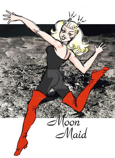 Moon Maid by meezerkat