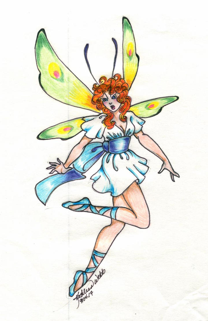 Redheaded Fairy by meezerkat