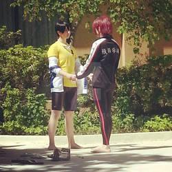 Free! Rin and Haruka