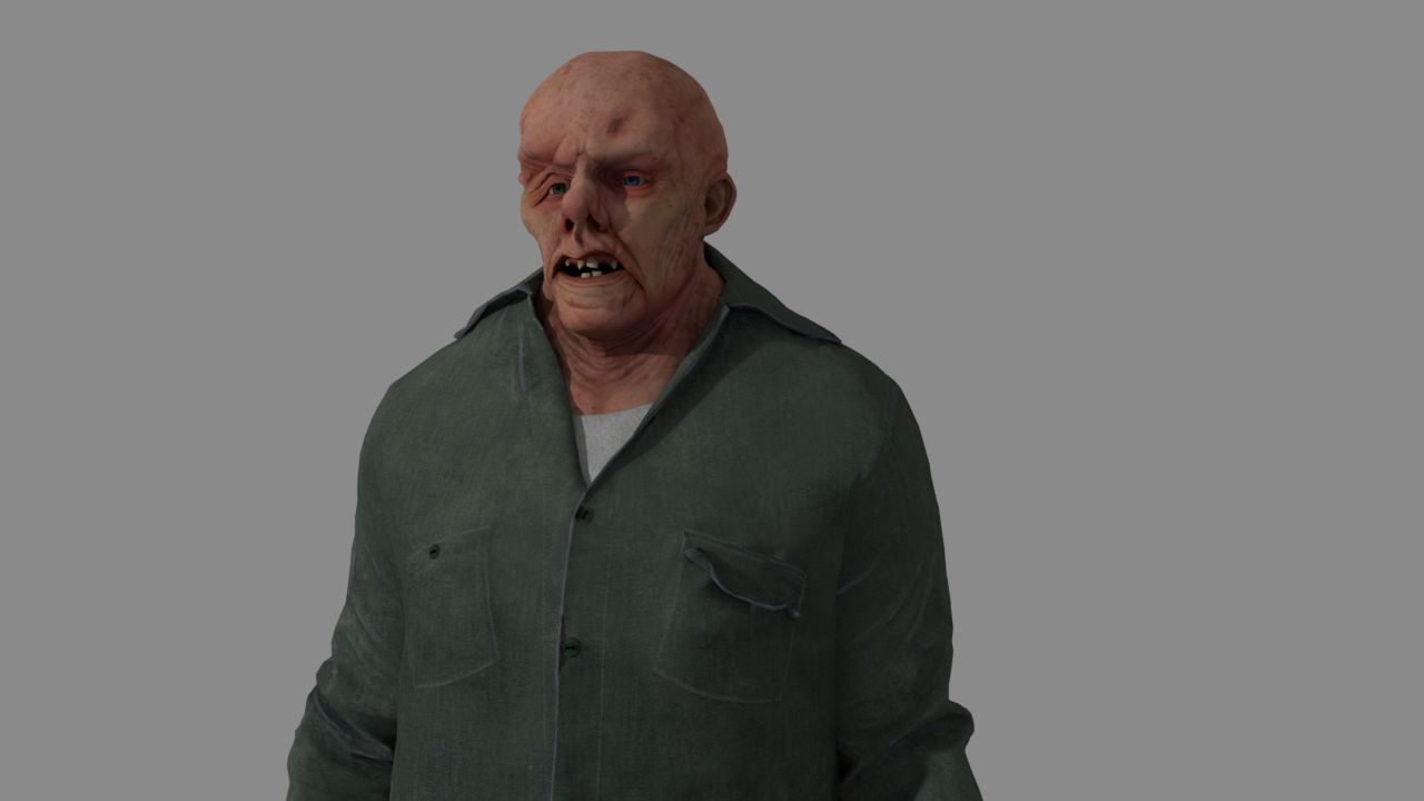 Jason Voorhees (Without mask) | First Render by Sl4sh3ro ...