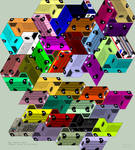 Tessellation: Keitora Gridlock by BatmanWithBunnyEars