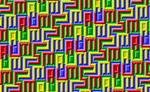 Autism Ambigram Tessellation