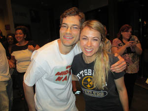 Me With Iliza At the Pittsburgh Improv!