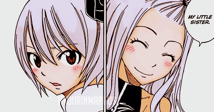 Mirajane and Yukino // chapter 307 by hyourinmaruus