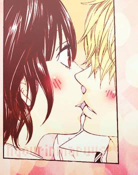 Kyouya and Erika // K I S S *u*