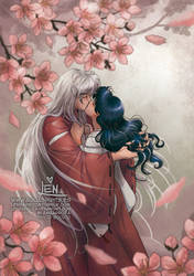 Kiss the Flower by LenBarboza