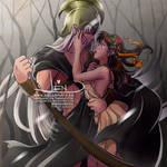 Sesshomaru-Hades x (adult) Rin-Persephone