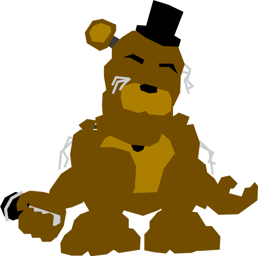how to draw withered golden freddy