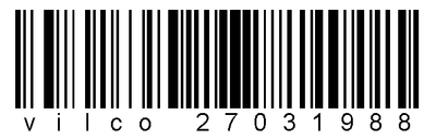 barcode by VILCO