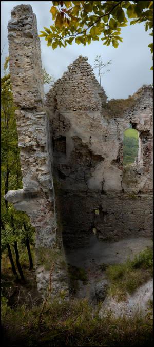Castle collapse
