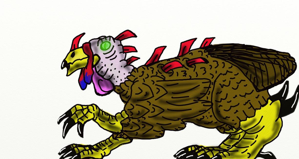 Mutant Turkey (Updated) by corex13 on DeviantArt