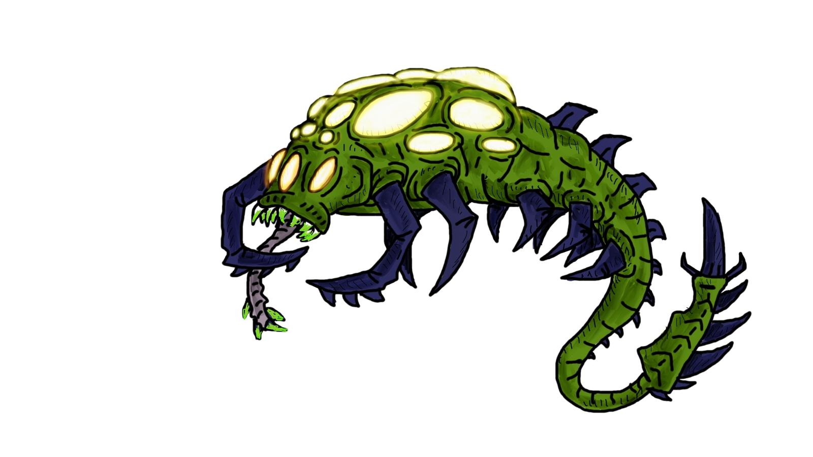 Parasitic Alien Virus by corex13