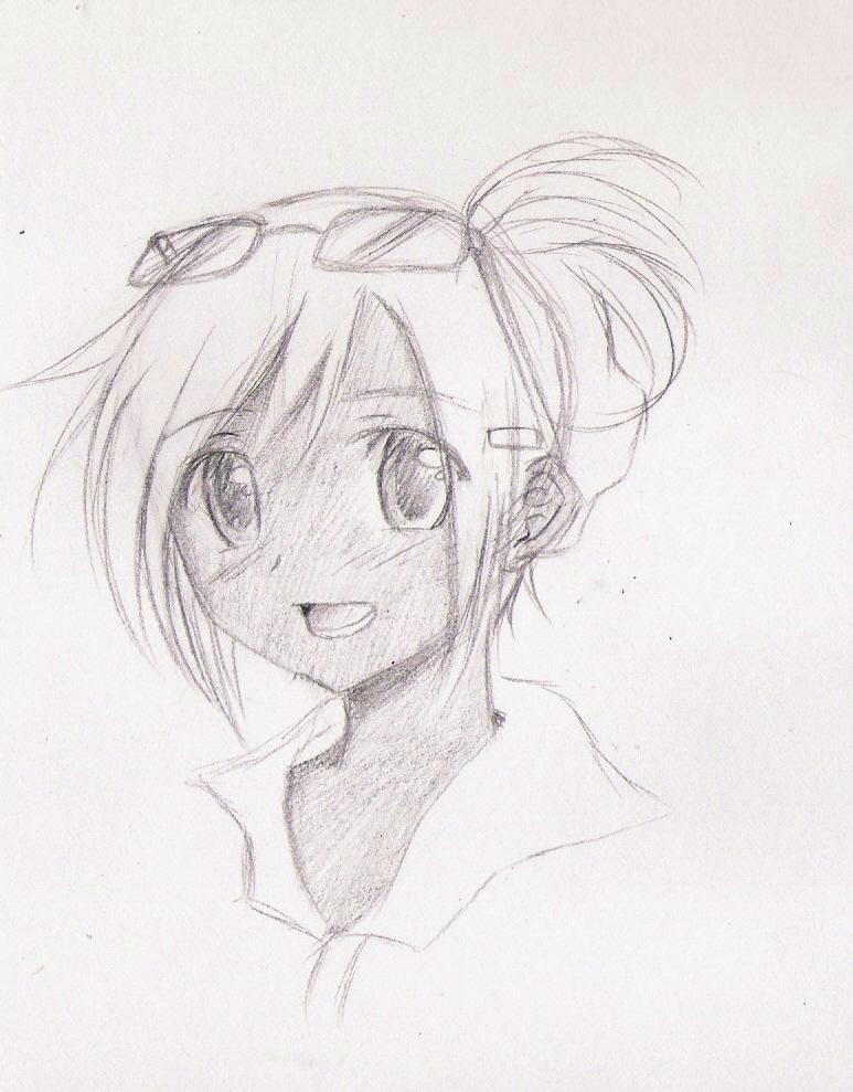 Anime self port by animekoumi on deviantart for Cool anime to draw