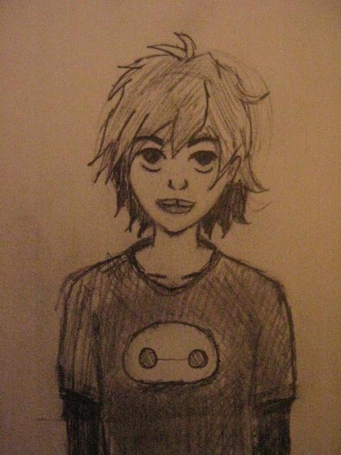 365 Days of Drawing. #49 (Hero/Hiro) by FenrisTheWolfBoy