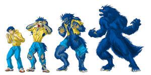 Akagi Werewolf change