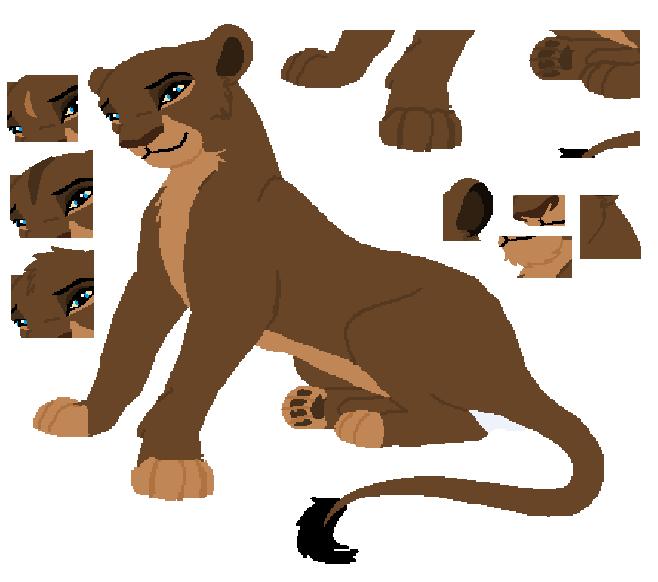Standard Lioness Base By MerlynsMidnight On DeviantArt
