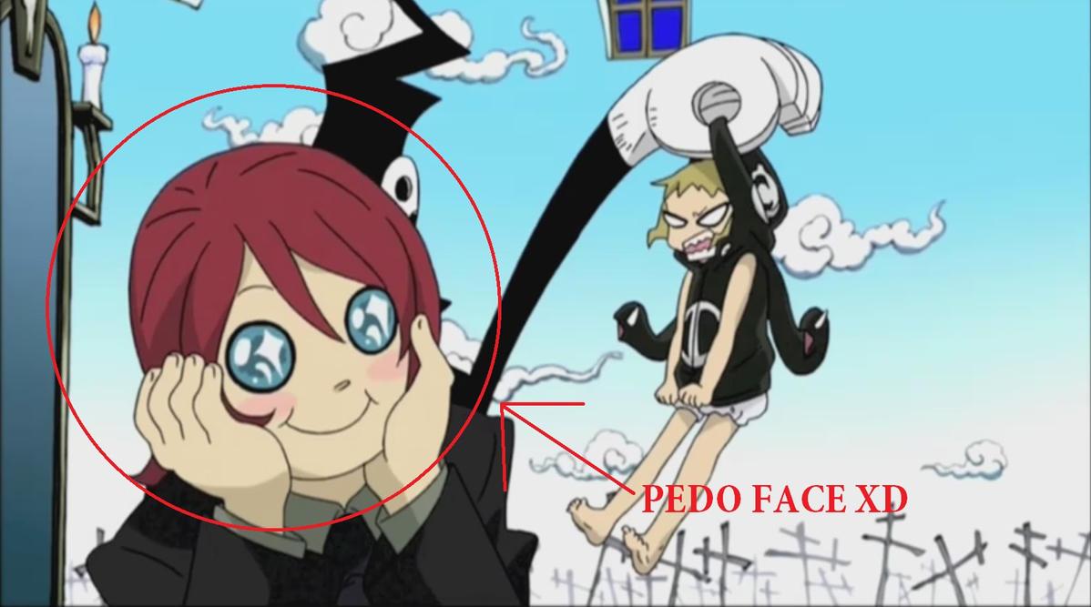 Pedo Face much? by JohnnyXLunaandRD