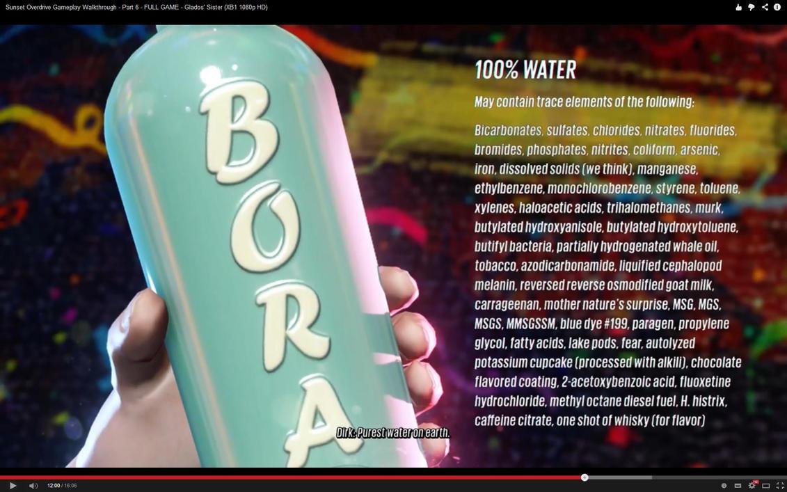 100% pure water? by JohnnyXLunaandRD