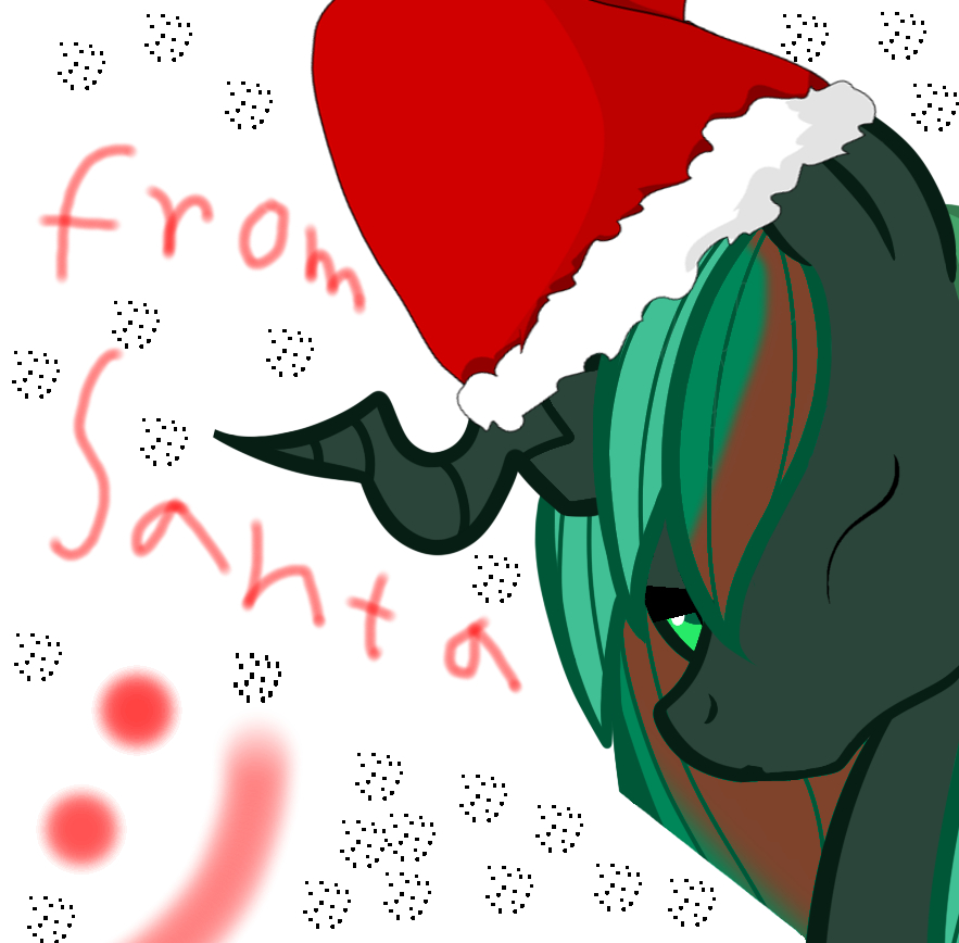Santa Chrystal by JohnnyXLunaandRD