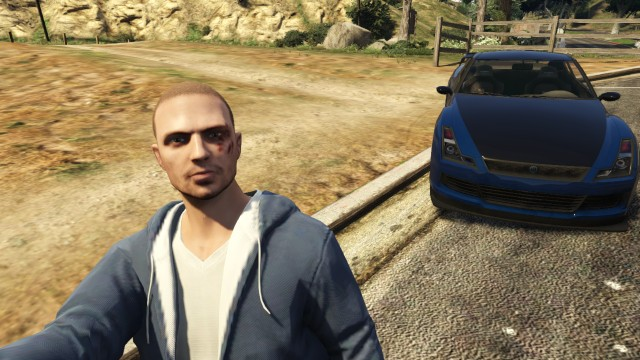 Me as Brian O'conner with his GTR by JohnnyXLunaandRD