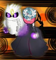 Shiny Mega Gardevoir,  Shiny Mega Gengar by Shadow-pikachu7