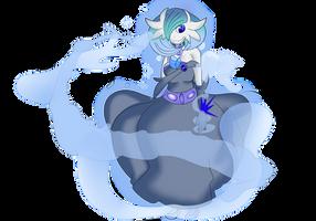 Shiny Mega Gardevoir v.7 : Water style by Shadow-pikachu7