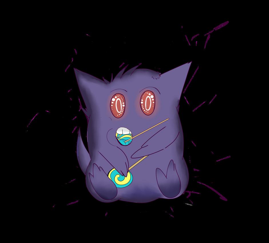 Poke Halloween Day 3: Gengar by Shadow-pikachu7