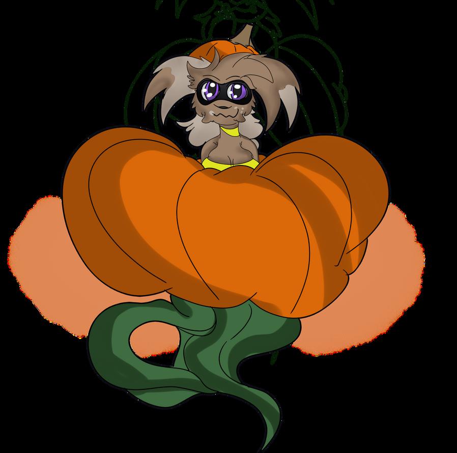 Halloween Coast drawings day 6: Jordyn pumpkin by Shadow-pikachu7