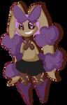 Mega Lopunny Toxic Chibified by Shadow-pikachu7