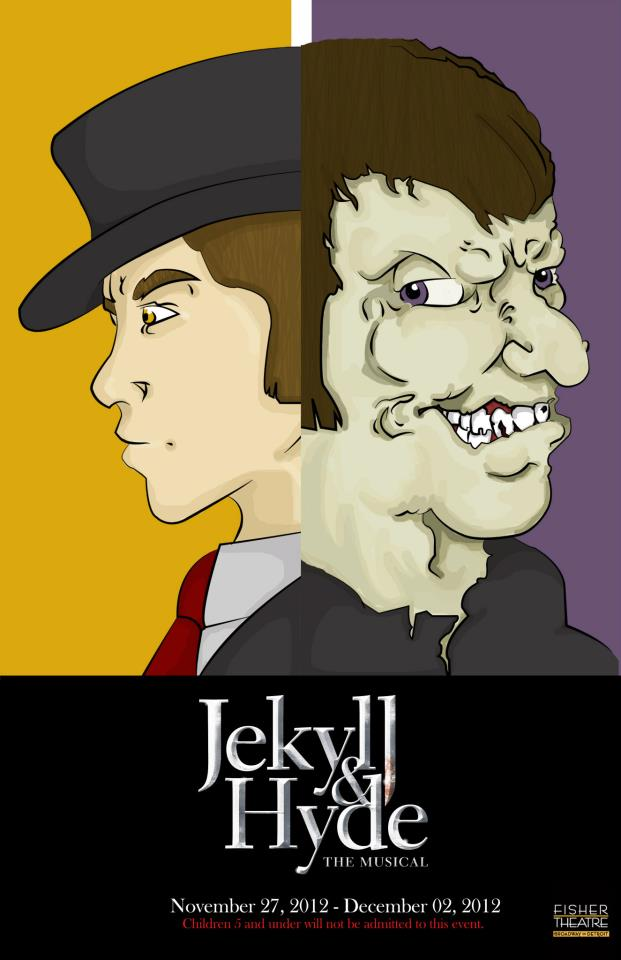 musical poster jekyll and hyde by oddlygnarly on deviantart