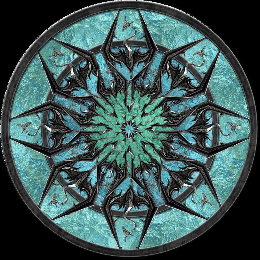 Logo Skyrim circle by jojo-ojoj on DeviantArt
