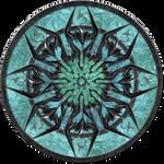 Logo Skyrim circle