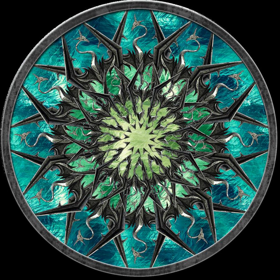 Logo Skyrim circle 1 by jojo-ojoj on DeviantArt