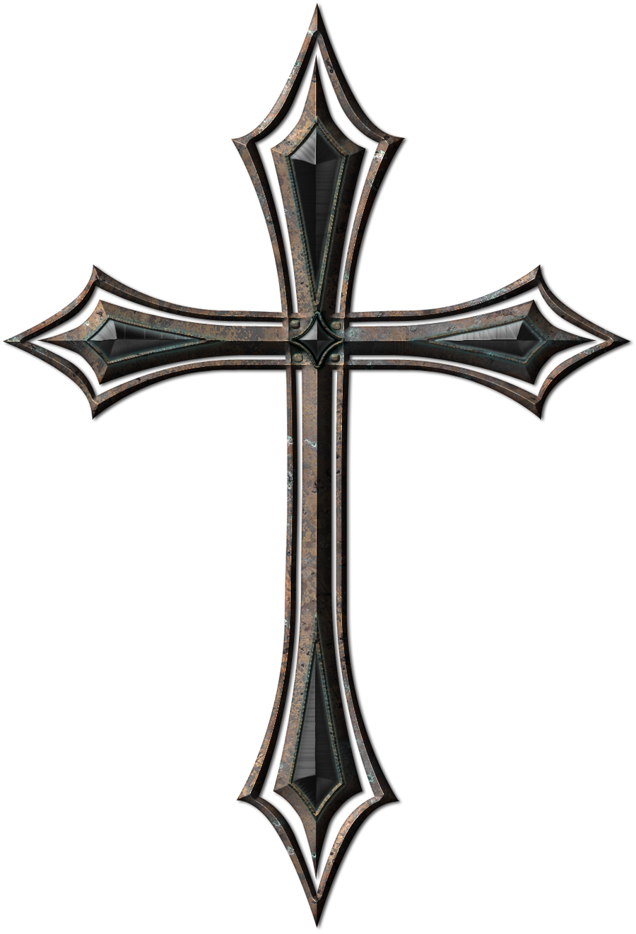 Old Metal Cross By Jojo Ojoj On Deviantart