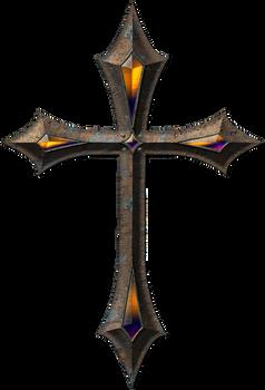 Old metal cross 1